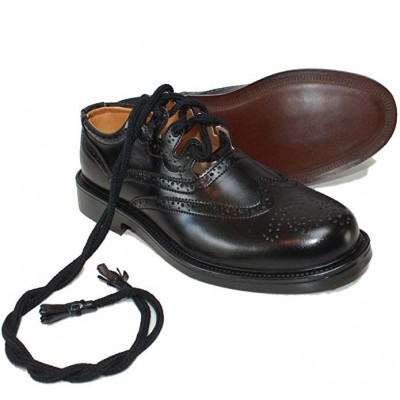 Full calf leather upper with a rubber sole