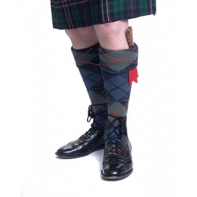 Tartan Hose made to measure in your own tartan to match you kilt.
