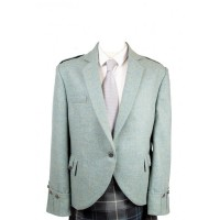 Lovat Green Tweed Argyll Jacket & 5 Button Vest
