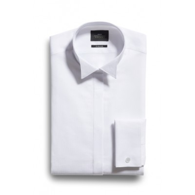 White Wing Collar Gents Shirt