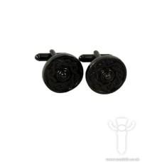 Celtic Cufflinks, Black Chrome