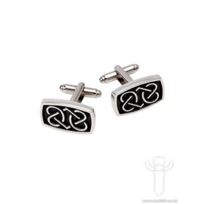 Rounded Celtic Cufflinks